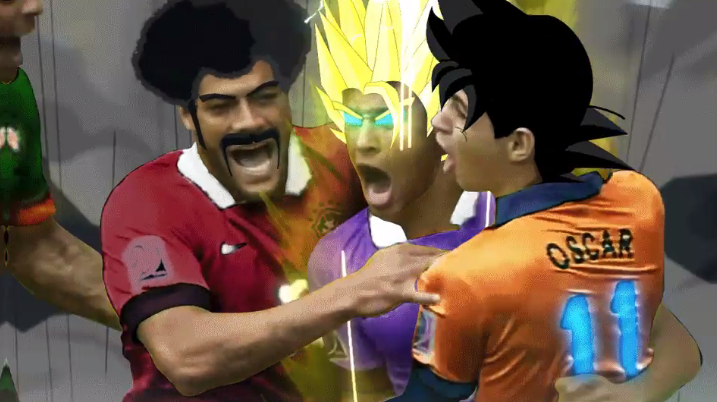 Neymar Jr. goes Super Saiyan