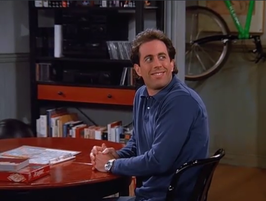 Disgusted Seinfeld
