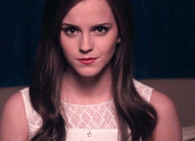 Emma Watson stare