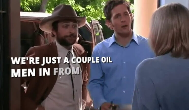 we're just a couple of oil men in from Dallas
