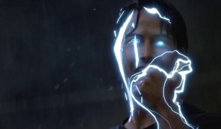Keanu Point Break Thumbs Up Super Saiyan High Quality Gif