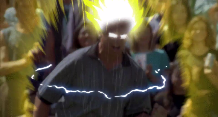 Shooter McGavin goes Super Saiyan