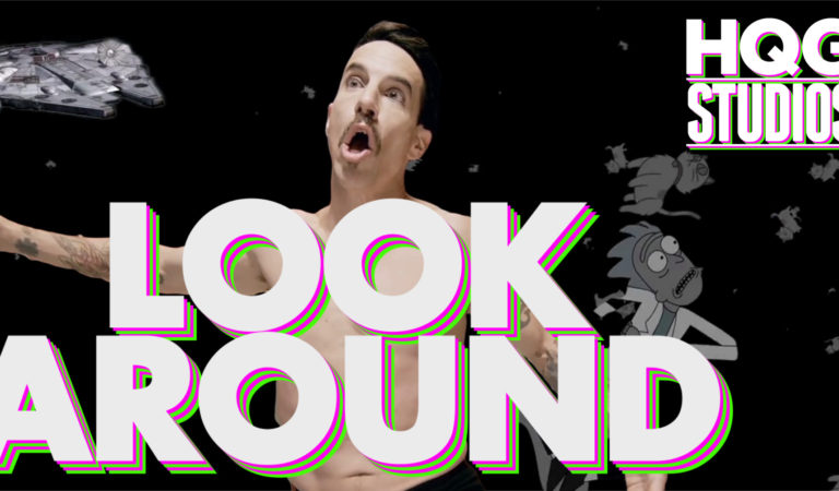 Red Hot Chili Peppers – Look Around (by HQG Studios)